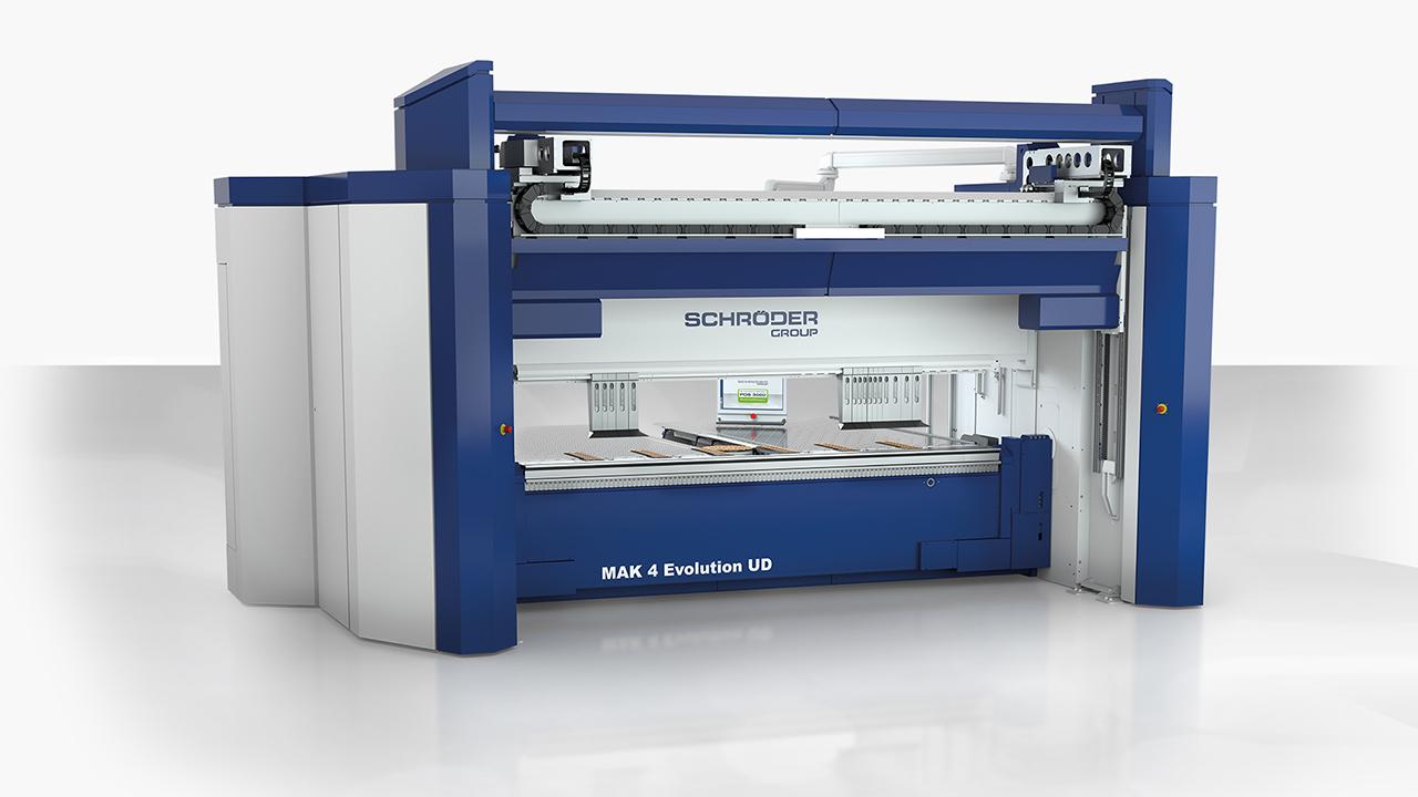 Die_Schröder_MAK_4_Evolution_UD_ermöglicht_hochautomatisiertes_Schwenkbiegen_in_Blechstärken_bis_8_Millimeter.